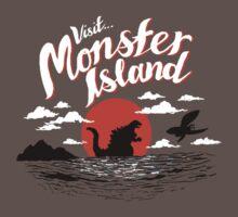 Monster Island Baby Tee