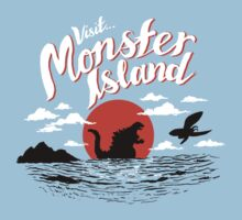 Monster Island One Piece - Short Sleeve