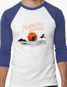 Monster Island Men's Baseball ¾ T-Shirt