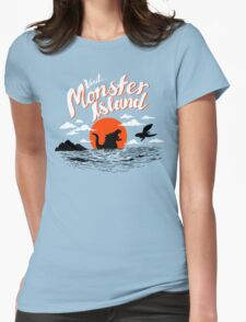 Monster Island Womens Fitted T-Shirt