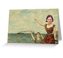 Neutral Milk Hotel - Jeff Mangum on In the Aeroplane Over the Sea Cover Greeting Card