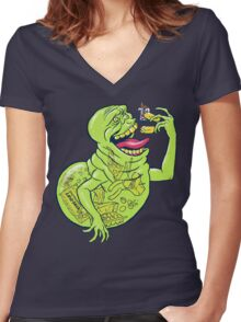 Ugly Little Spud Women's Fitted V-Neck T-Shirt