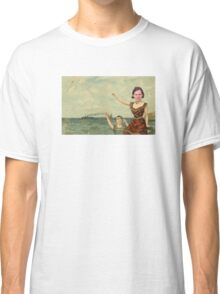 Neutral Milk Hotel - Jeff Mangum on In the Aeroplane Over the Sea Cover Classic T-Shirt
