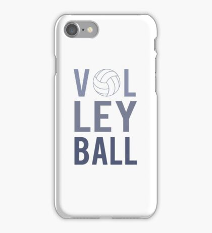 Volleyball Sports  iPhone Case/Skin