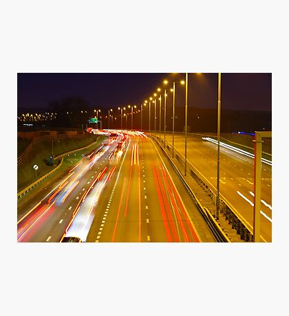 Black Friday Rush Hour Photographic Print