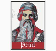 PRINT Gutenberg by 3878 Decode