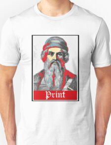 PRINT Gutenberg Unisex T-Shirt