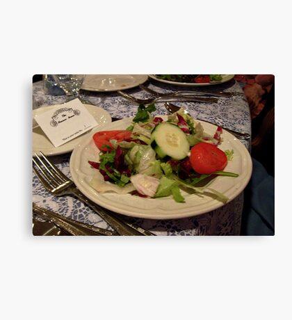 Yummy Salad Canvas Print