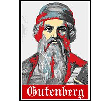 Gutenberg Photographic Print