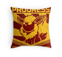 ORDER IS PROGRESS Throw Pillow
