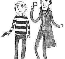 Let's Play Murder (Sherlock & John) by Kirstendraws