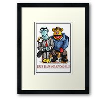 Birds, Bears and Automobiles Framed Print