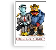 Birds, Bears and Automobiles Canvas Print