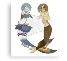 ♥ Mermaid Princesses ♥ Metal Print