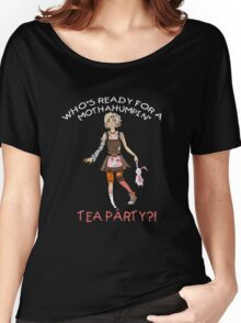 Mothahumpin' TEA PARTY! Women's Relaxed Fit T-Shirt