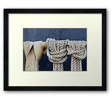What Knots... Framed Print
