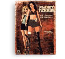 Planet Terror Canvas Print