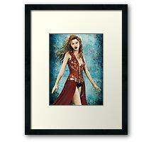 Vampire Mistress Framed Print