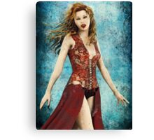 Vampire Mistress Canvas Print