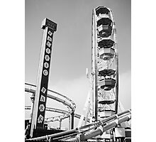 Pacific Park Amusements Photographic Print