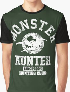 Monster Hunter Hunting Club Graphic T-Shirt