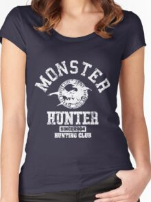 Monster Hunter Hunting Club Women's Fitted Scoop T-Shirt