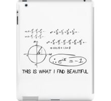 e to the i Pi iPad Case/Skin