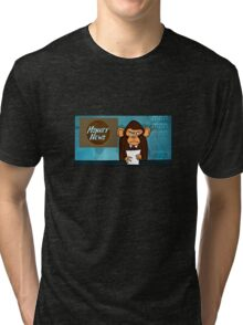 Monkey News Tri-blend T-Shirt