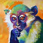 Thinking Monkey by Sandra Trubin