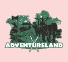 ADVENTURE in this LAND! Kids Tee