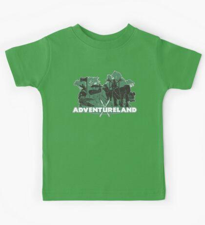 ADVENTURE in this LAND! Kids Tee