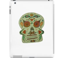 rainbow candy skull iPad Case/Skin