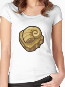 ALL HAIL THE HELIX FOSSIL Women's Fitted Scoop T-Shirt