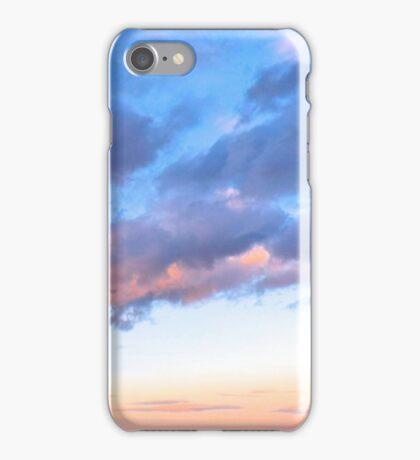 Jeweled Clouds in Puget Sound iPhone Case/Skin