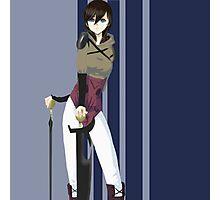 Random Anime Chick Photographic Print