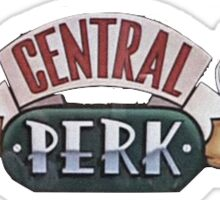 Central Perk Logo Sticker