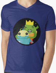 Droid gets ambushed! Mens V-Neck T-Shirt