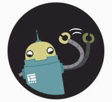 Droid says hello :) by Nathan Garcia