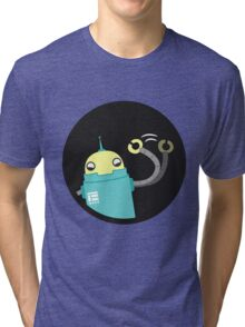 Droid says hello :) Tri-blend T-Shirt