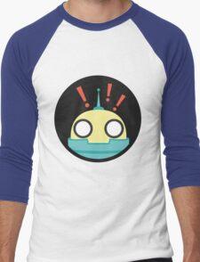 Droid shocked! Men's Baseball ¾ T-Shirt