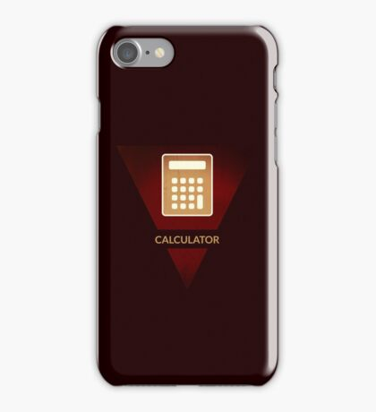symbols: the calculator iPhone Case/Skin