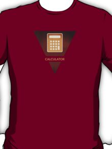 symbols: the calculator T-Shirt
