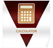 symbols: the calculator Poster