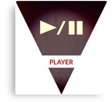 symbols: the player Canvas Print