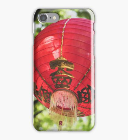Red Chinese Lantern iPhone Case/Skin