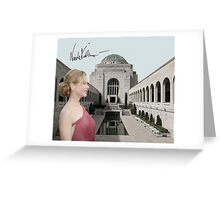 Nicole Kidman in the War Memorial Greeting Card