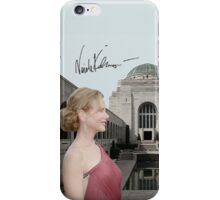 Nicole Kidman in the War Memorial iPhone Case/Skin