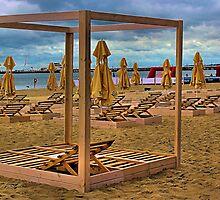 empty beach by Grazyna W.