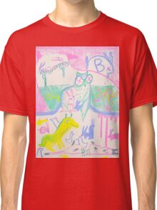 Pastel Roadkill Party with Owl and friends!  THE AFTERPARTY Classic T-Shirt