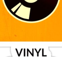 symbols: the vinyl / record Sticker